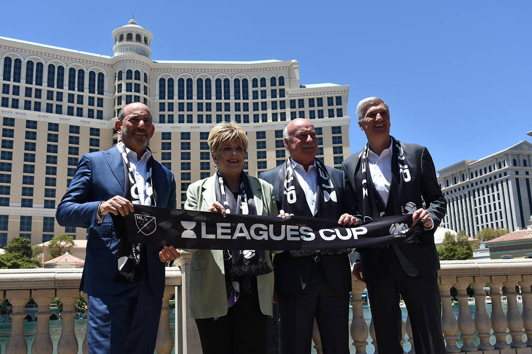 Personalidades municipales y deportivas se mostraron contentos por traer a la final de la Leagu ...