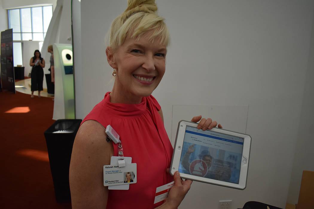 Katura Hartley, gerente de proyecto II de la Clinica Cleveland. Jueves 11 de julio de 2019 en C ...