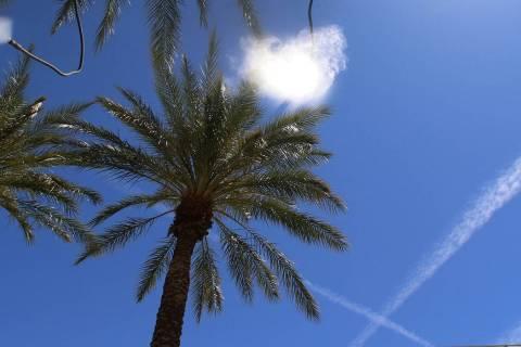 Temperaturas por arriba de lo normal se sentirán en el valle de Las Vegas al menos hasta media ...