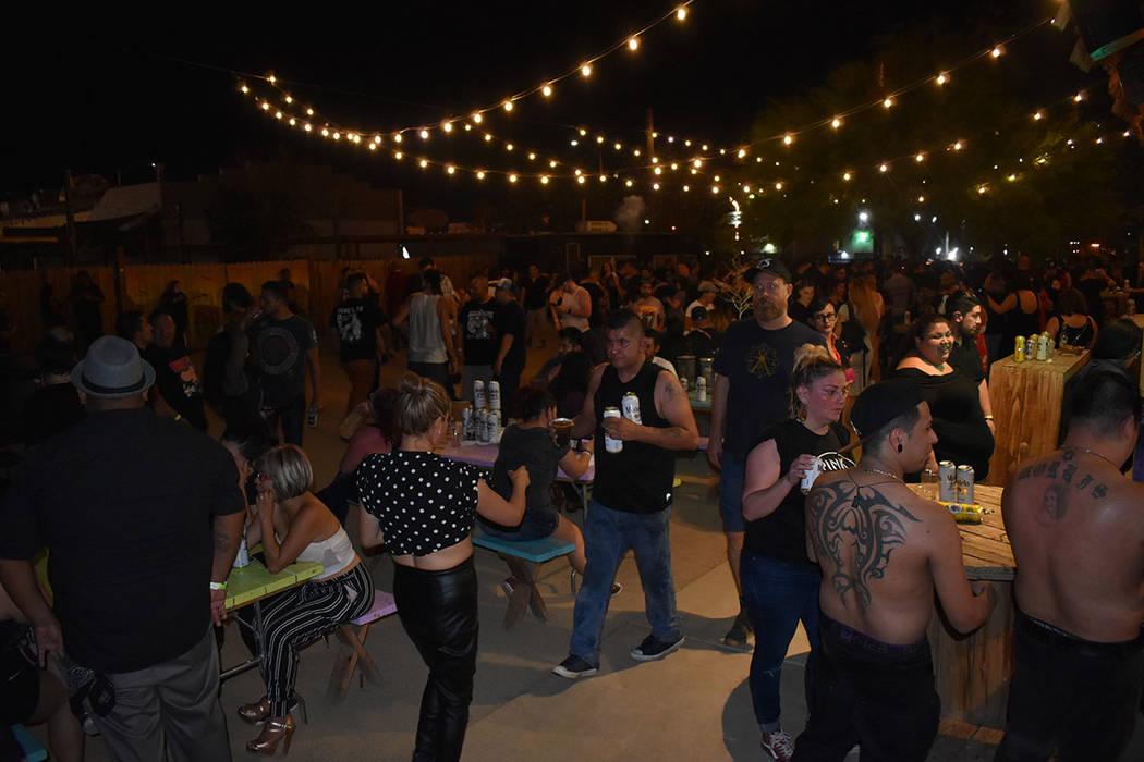Cientos de personas disfrutaron de una noche de rock y ska. Viernes 12 de julio de 2019 en The ...