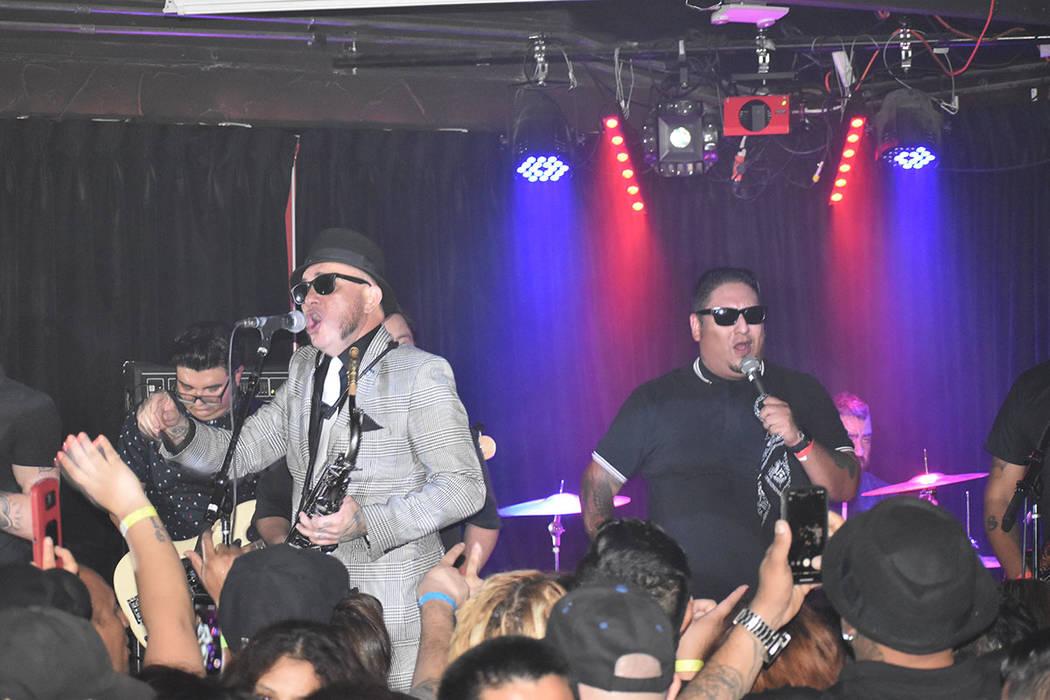 Inspector ofreció un concierto especial para sus seguidores de Las Vegas. Viernes 12 de julio ...