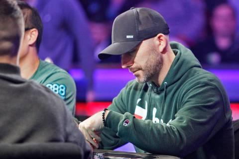 Garry Gates en la mesa final del evento principal durante la World Series of Poker en el hotel- ...