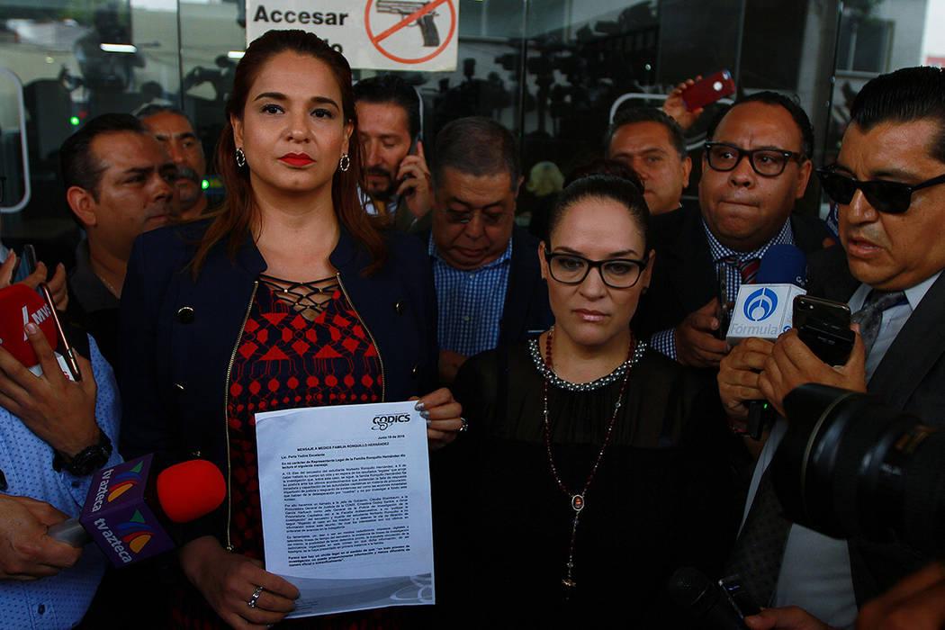 ARCHIVO. México, 19 Jun 2019 (Notimex - Francisco Estrada).- Norelia Hernández, madre de Norb ...
