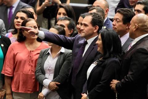 Ciudad de México, 18 Jul 2019 (Notimex- Javier Lira).- Arturo Herrera Gutiérrez fue ratifica ...