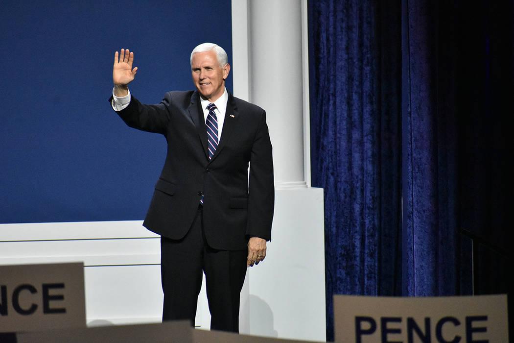 Archivo.- El vicepresidente Mike Pence dijo priorizó la seguridad nacional bajo la actual admi ...