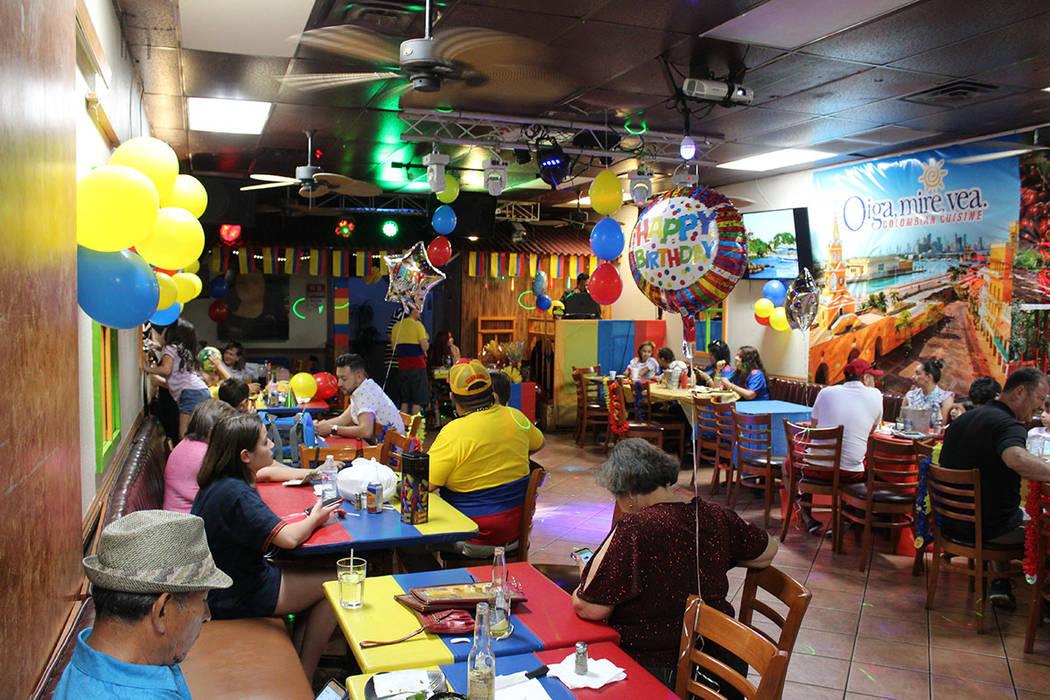 Los colombianos celebraron en familia su Independencia. Sábado 20 de julio del 2019 en Oiga, M ...