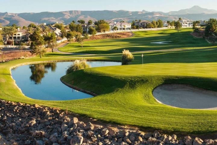 El Legacy Golf Club en Henderson reabrió sus puertas en octubre de 2017, luego de haber cerrad ...