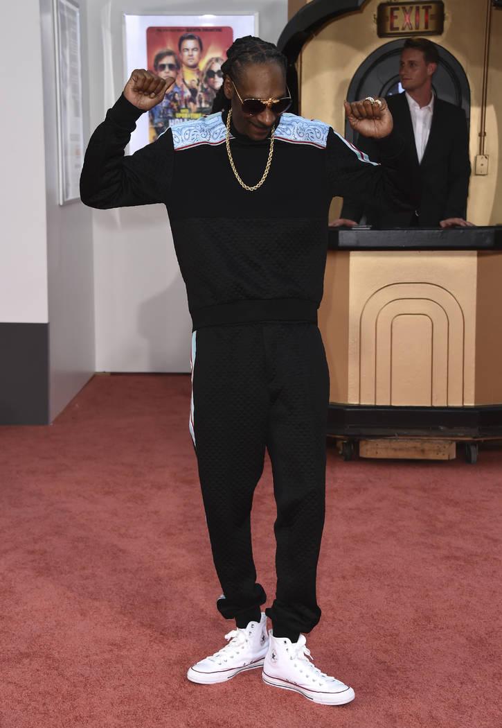 """Snoop Dogg llega al estreno en Los Ángeles de """"Once Upon a Time in Hollywood"""" en el Teatro Chi ..."""