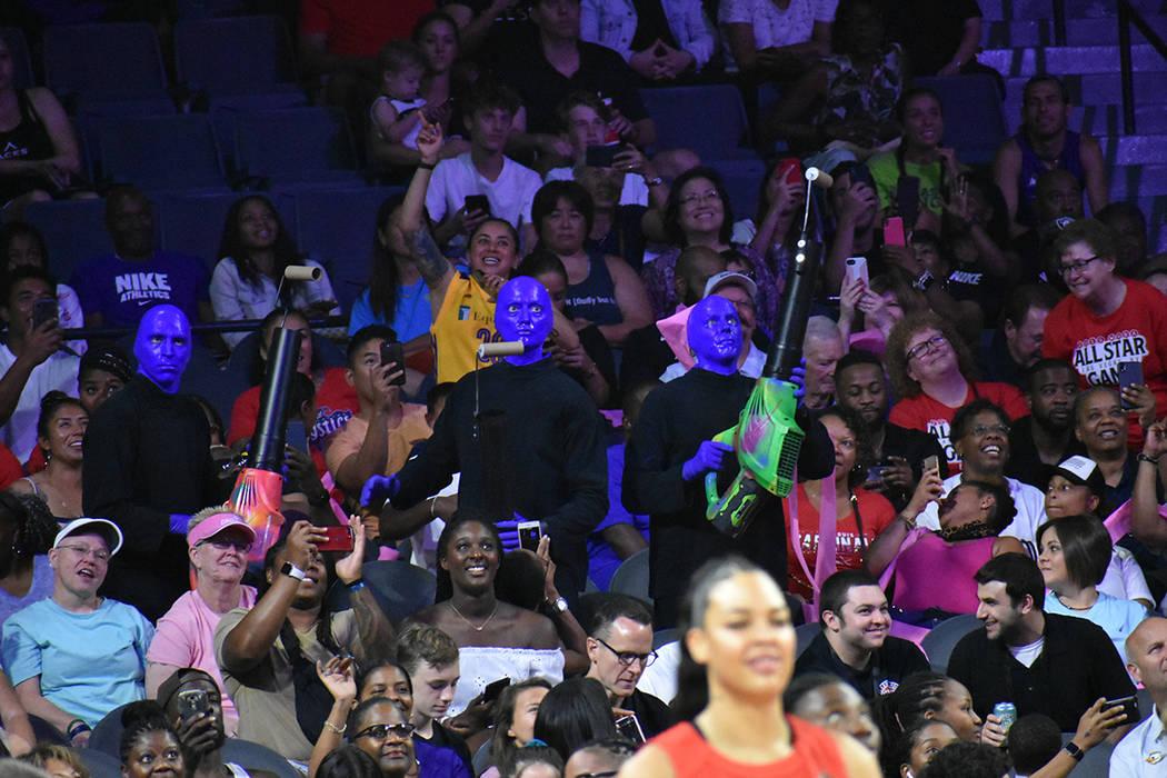 El Juego de Estrellas de la WNBA tuvo distintas intervenciones artísticas. Sábado 27 de julio ...