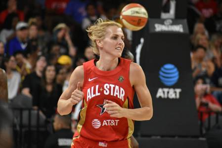 Allie Quigley (Chicago Sky) tuvo una destacada participación en el Juego de Estrellas de la WN ...