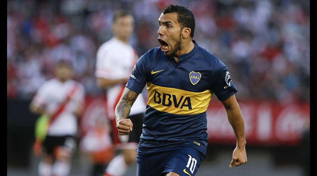 Carlos Tevez. [Foto Natacha Pisarenko / AP]