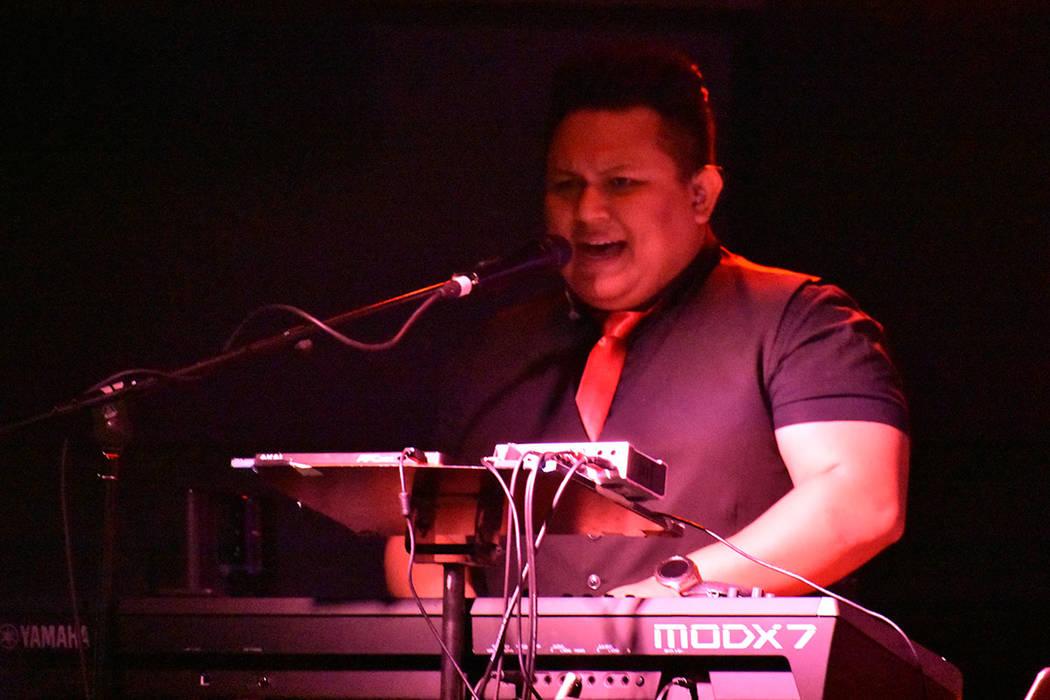 José May (tecladista). Viernes 26 de julio de 2019 en Índigo Lounge en el casino Bally's. F ...