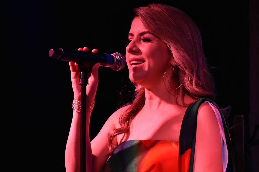 Wendy Murray (cantante). Viernes 26 de julio de 2019 en Índigo Lounge en el casino Bally's. ...