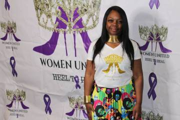 Zandra Jackson, presidenta de Diamantes & Perlas, acerco a varias organizaciones a las mujeres ...