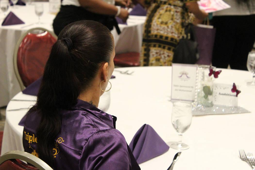 Las presentes recordaron a Meme Lavoll y Camila Williams que fallecieron por violencia domésti ...