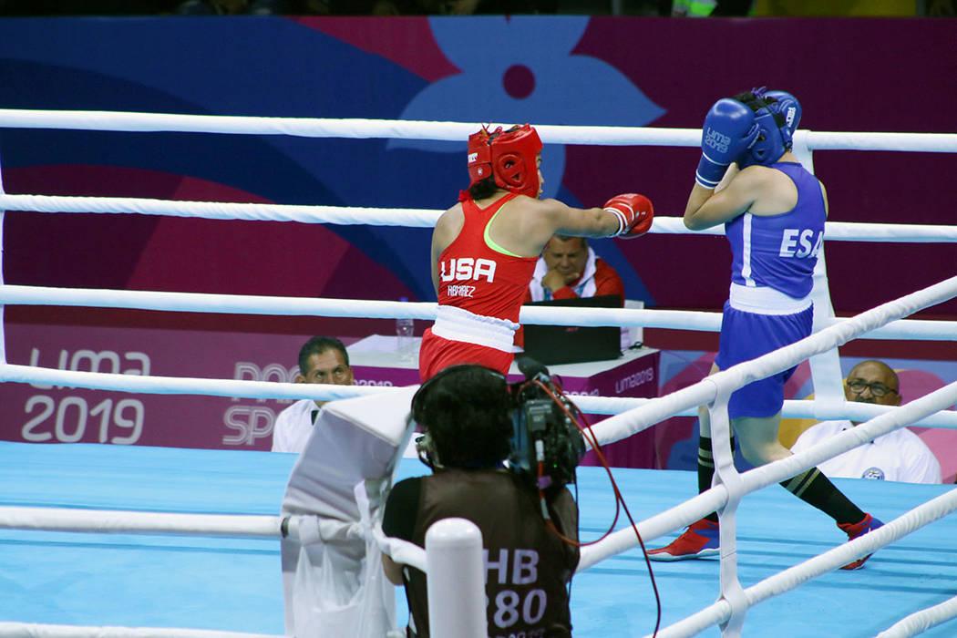 Yarisel Ramírez puso en alto el nombre de Las Vegas, la peleadora de origen cubano obtuvo meda ...