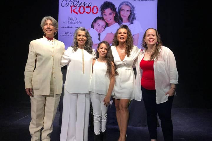 México, 29 Jul 2019(Notimex-Guillermo Granados) Conferencia de prensa de las protagonistas de ...