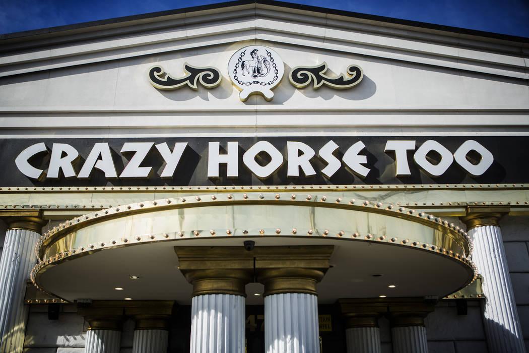 The Crazy Horse Too Gentlemen's Club, ubicado en 2476 S. Industrial Road, el miércoles, 12 de ...