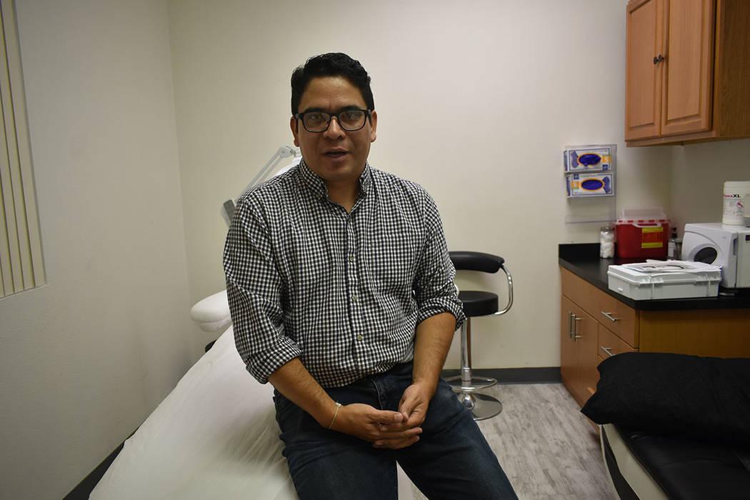 El vocero de American Male Wellness, Cristian Echeverría, abordó el problema de la diabetes e ...