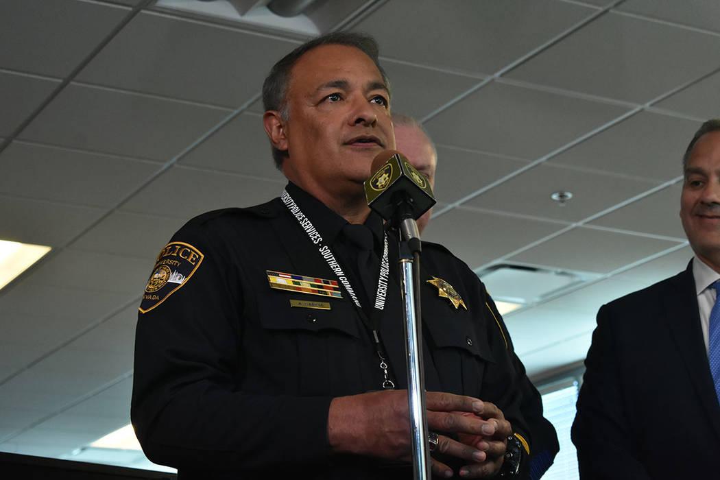 El vicepresidente asociado y director de la Policía Universitaria, Adam García, informó de u ...