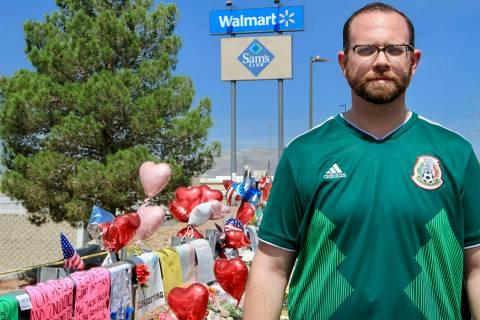 El Paso, Texas, 9 Ago 2019 (Notimex-Javier Lira).- David Stout, comisionado en la Corte del Con ...