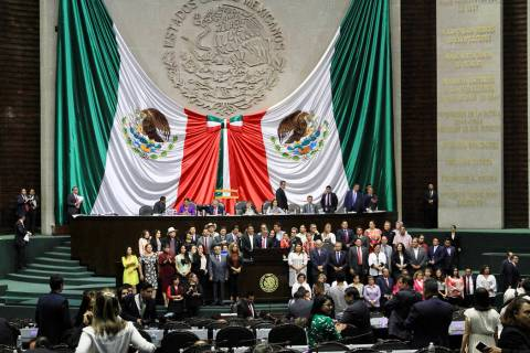 ARCHIVO. México 18 Jul 2019 (Notimex-Javier Lira).- La bancada de Morena, se unió a favor de ...