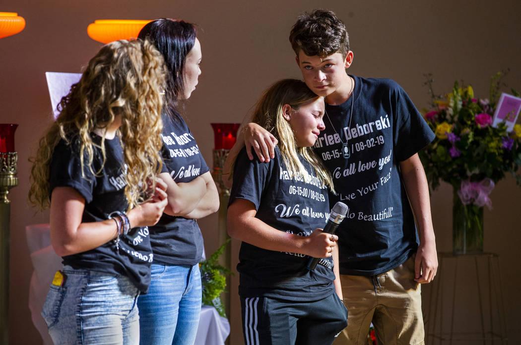 Familiares de Harlee Deborski comparten los momentos especiales que tuvieron con él durante su ...
