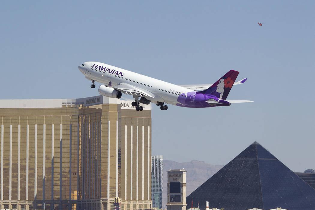 Un vuelo de Hawaiian Airlines realizó un aterrizaje de emergencia en el Aeropuerto Internacion ...