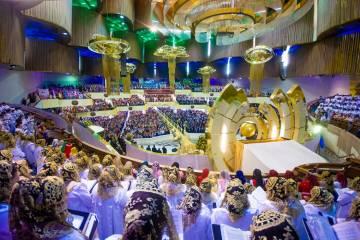 Guadalajara, 9 Ago 2019 (Notimex-Especial).- En la Iglesia de la Luz del Mundo arrancó su Sant ...