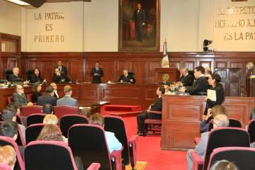 ARCHIVO. México, 27 Junio. 2019. Notimex (Javier Lira). - El Ministro Presidente de la Suprem ...