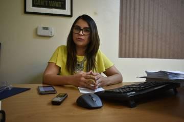 La directora estatal de Mi Familia Vota, Cecia Alvarado, habló sobre los servicios que proporc ...