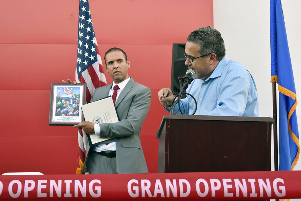 Peter Guzmán, presidente de LCC, destacó la importancia de tener un edificio que proporcione ...
