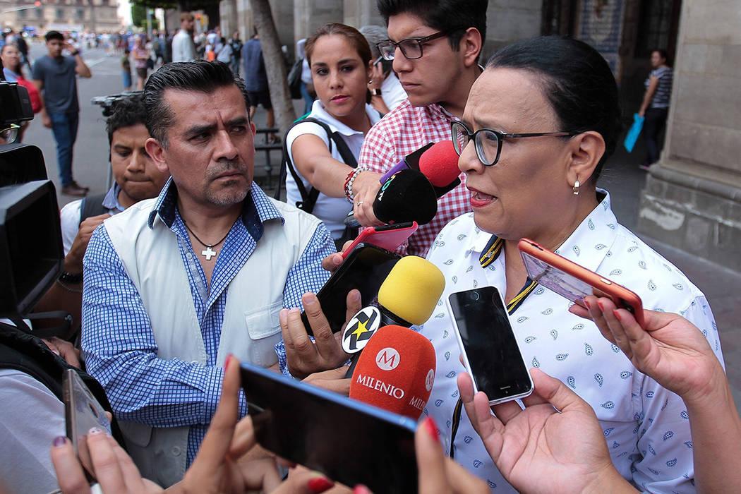 México, 17 Ago 2019 (Notimex-Isaías Hernández).- La secretaria de Gobierno de la Ciudad de M ...