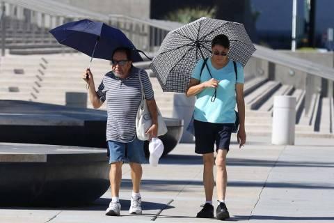 Una advertencia de calor excesivo comienza el martes por la mañana y durará hasta el jueves e ...