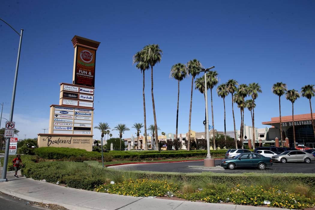 Boulevard Mall de Las Vegas el miércoles, 21 de agosto de 2019. (K.M. Cannon / Las Vegas Revie ...