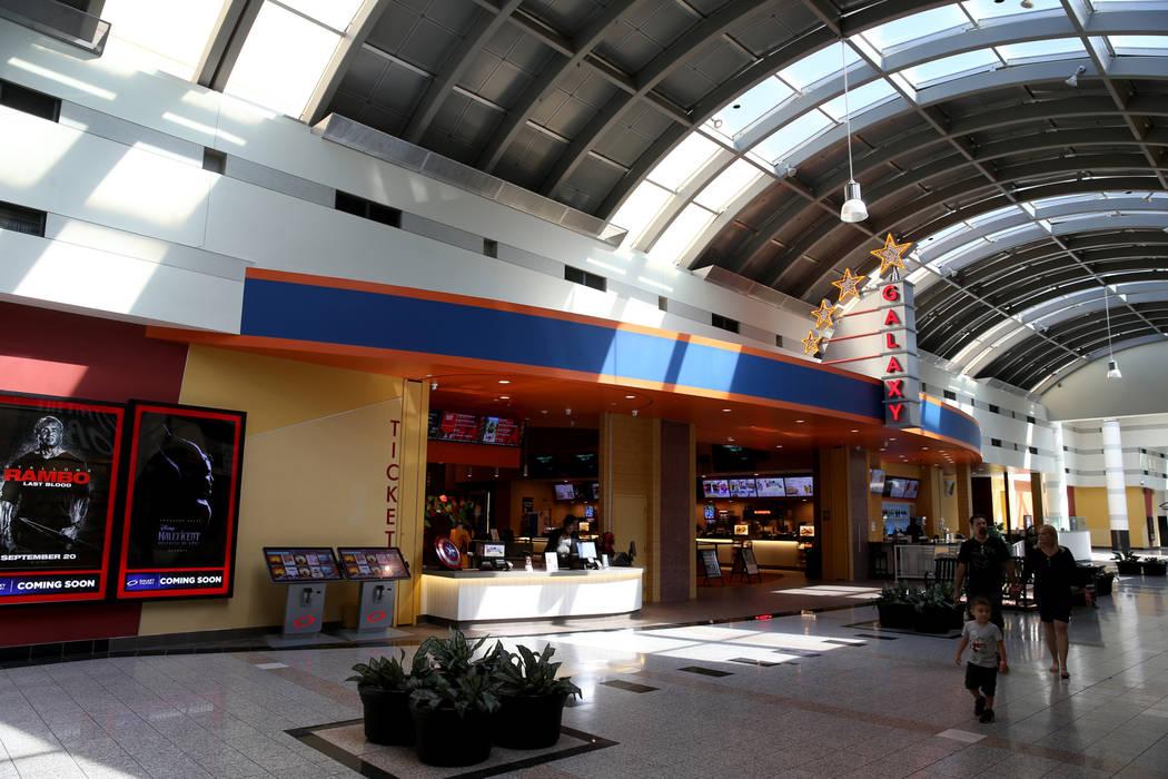 Galaxy Theaters en Boulevard Mall de Las Vegas el miércoles, 21 de agosto de 2019. (K.M. Canno ...
