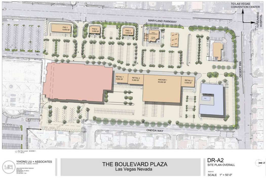 Representación de Boulevard Plaza. (Remington Nevada)