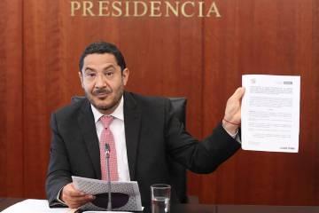 ARCHIVO. Ciudad de México, 19 Ago 2019 (Notimex-Senado).- El senador Martí Batres será susti ...