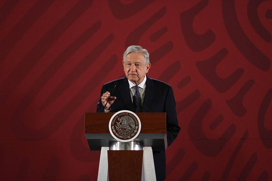 ARCHIVO. México, 26 Ago 2019 (Notimex-Guillermo Granados).- El Presidente Andrés Manuel Lópe ...