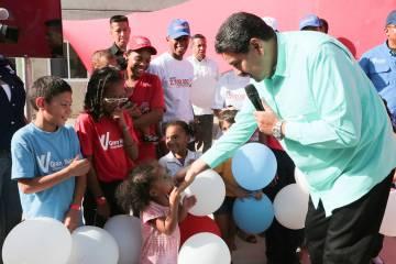 ARCHIVO. Miranda, 11 Jul 2019 (Notimex-Xinhua).- El presidente Nicolás Maduro encabezó la ent ...