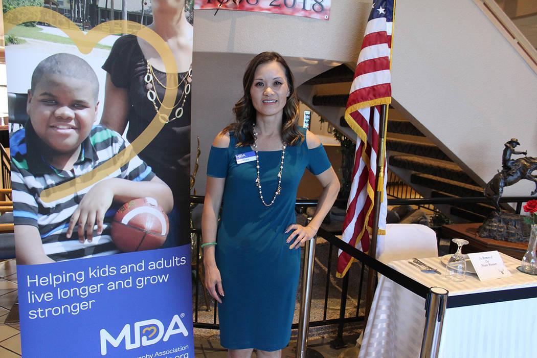 Anne Browne, directora ejecutiva de MDA Nevada, comentó que atienden a 700 familias en el esta ...