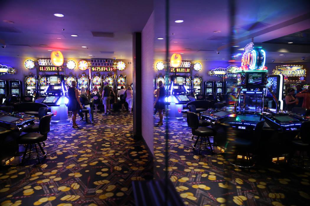 El casino en el hotel-casino D Las Vegas el viernes, 23 de agosto de 2019. (Erik Verduzco / Las ...