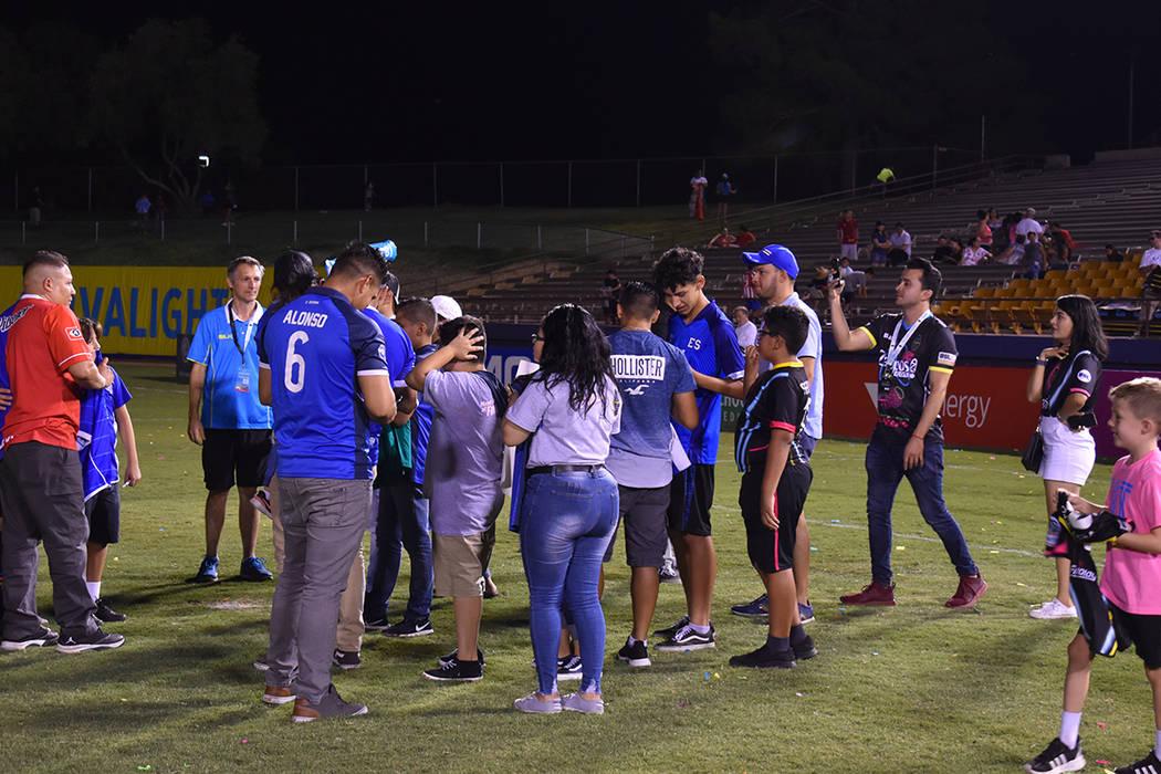 """Guerra de """"Globos con agua"""" en Las Vegas. Sábado 24 de agosto de 2019 en el Cashman Field. ..."""