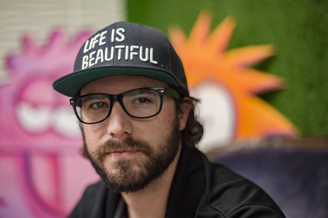 Lee Flint es el director culinario del Life Is Beautiful Festival en el centro de Las Vegas. (R ...