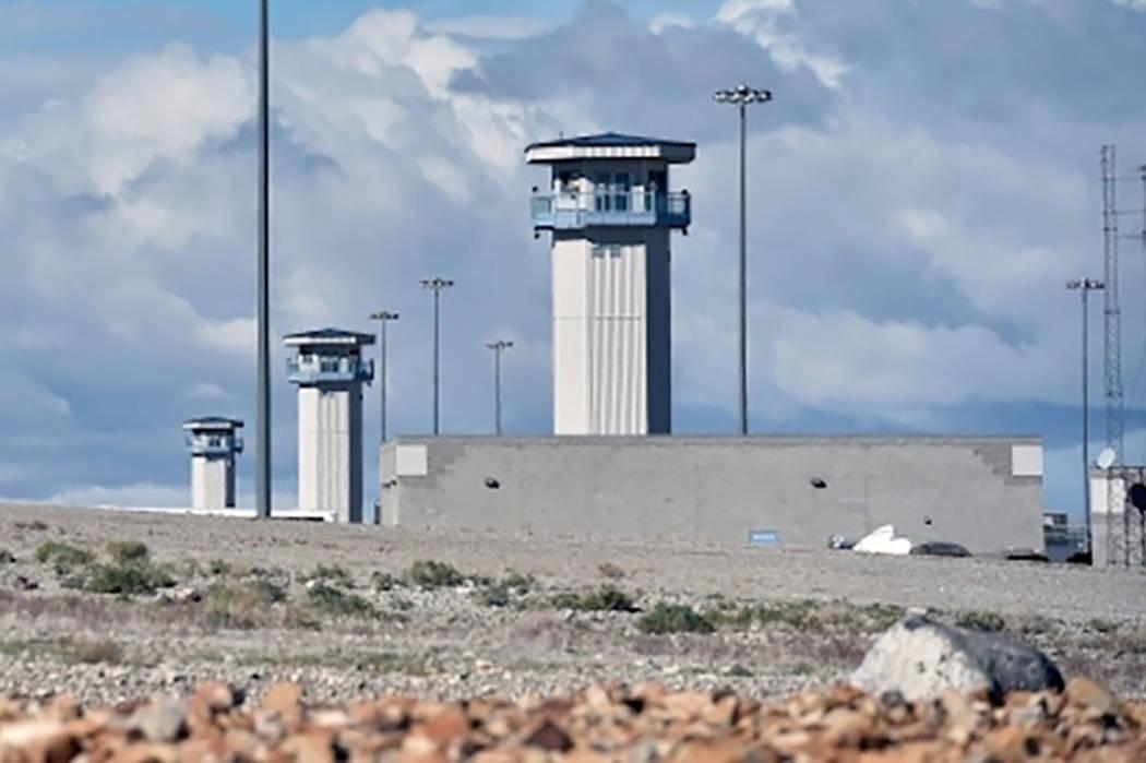 High Desert State Prison en Indian Springs, Nevada. (David Becker/Las Vegas Review-Journal)