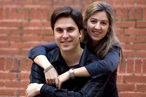 Raúl Prieto y María Teresa Sierra. [Foto Joan Cortadellas]