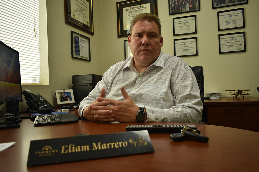 El agente de seguros, Eliam M. Marrero Bernal, sugiere a las personas adquirir un seguro médic ...
