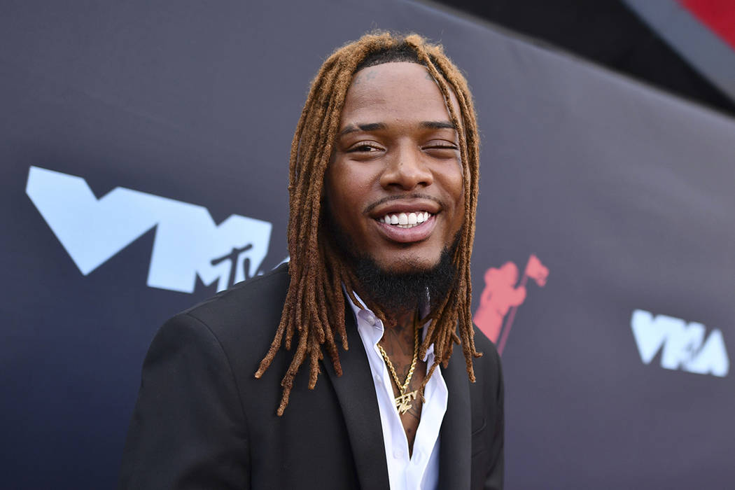 Fetty Wap llega a los MTV Video Music Awards en el Prudential Center el lunes, 26 de agosto de ...