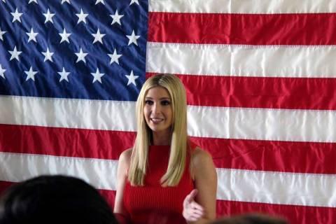 Archivo.- Ivanka Trump habla durante una comparecencia con el senador republicano de Nevada, De ...