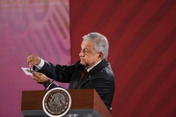 México, 3 Sep 2019 (Notimex-Guillermo Granados).- El Presidente Andrés Manuel López Obrador ...
